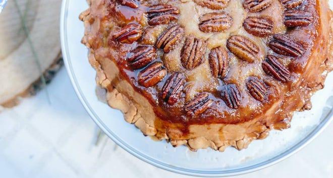 Upside Down Apple Pie
