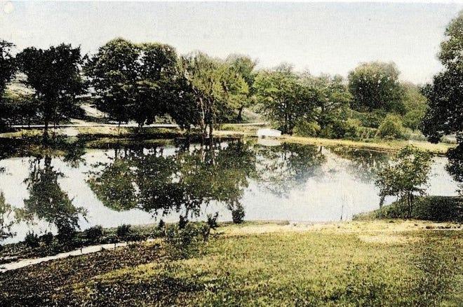 Baker Park postcards