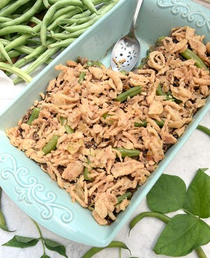 Nothing beats an old family recipe, unless you make it better than ever using fresh, garden-picked string beans.