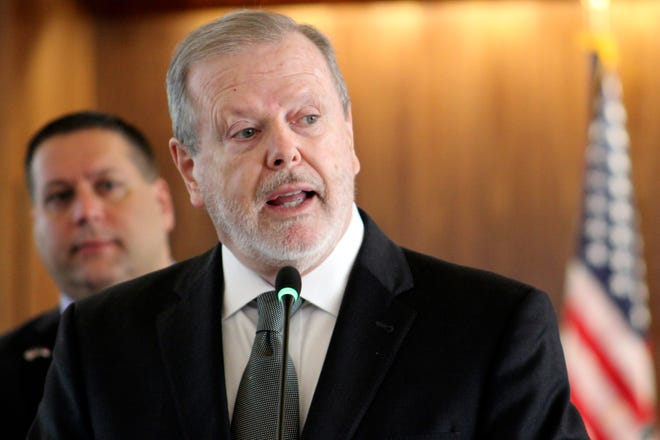 Republican Senate leader Phil Berger and other GOP legislative leaders have tried for a decade to require photo IDs to cast ballots. (AP Photo/Bryan Anderson)