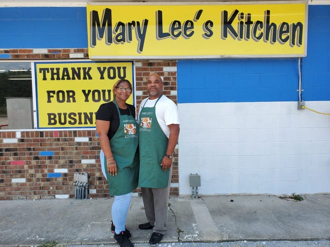 Owners Clinton and Zena Dawson are set to open their new restaurant on Oct. 1 in Vanceboro