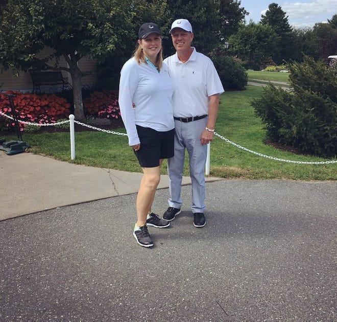 Golf pros Shawn and Rick Durocher of Cyprian Keyes GC.