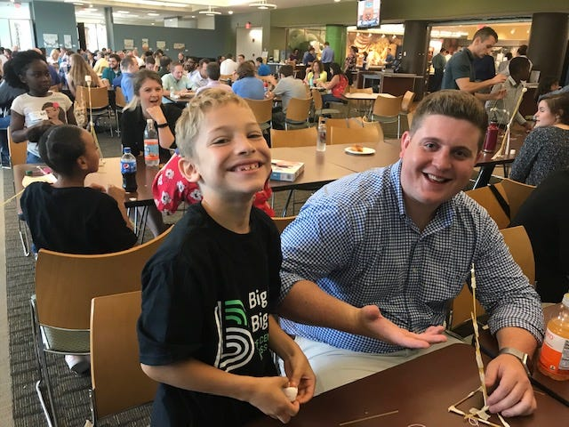 Participants at a 2019 event organized by the Big Brothers Big Sisters of Central Massachusetts and Metrowest.