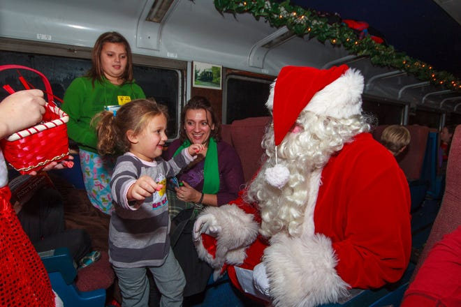 The Polar Express Train Ride will return to the Dennison Railroad Depot Museum, 400 Center St.,fromDec. 3to5 andDec.10to12.