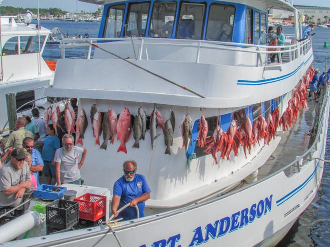 The Fishing Rodeo will be hosted by Capt. Anderson's Marina.