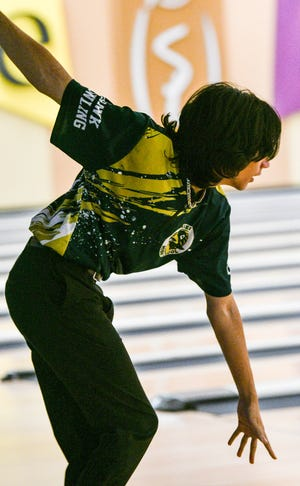Colin Frost of Viera bowls during games Thursday at Shore Lanes in Palm Bay. Craig Bailey/FLORIDA TODAY via USA TODAY NETWORK