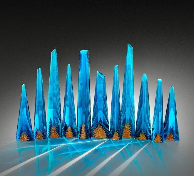 """""""Blue City"""" by artist Alex Bernstein"""