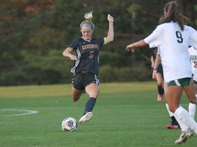 Lexington's Lauren Alexander scored six goals in a 10-0 girls soccer win over West Holmes.