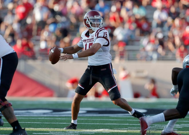 New Mexico State hosts South Carolina State on Saturday at 6 p.m., at Aggie Memorial Stadium.
