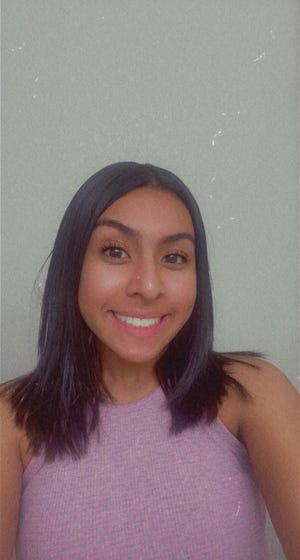 Felicity Hernandez, a recent Centennial High School graduate, was chosen in August 2021 as the first recipient of the Khyana Sky Foundation scholarship -- a memorial in honor of the late teen who passed away in December 2020.