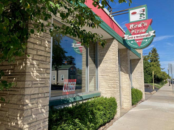 Steve Lawler, owner of Red's Pizza & Catering, 1123 Oregon St., said the family-run restaurant would close Sept. 26 after 64 years in business. The restaurant is shown here on Friday.