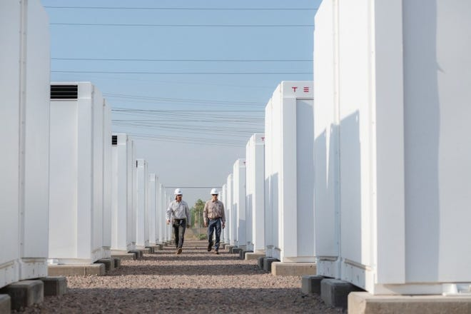SRP placed into service a 25-megawatt (MW) battery storage facility called the Bolster Substation Battery System.