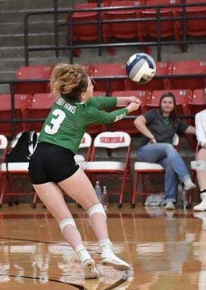 Wall High School's Karagan Clare was voted Standard-Times athlete of the week for her performance on the volleyball team during the week of Sept. 6-11.