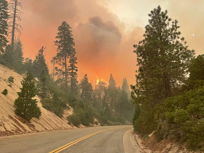 The Windy Fire started on September 9, 2021.