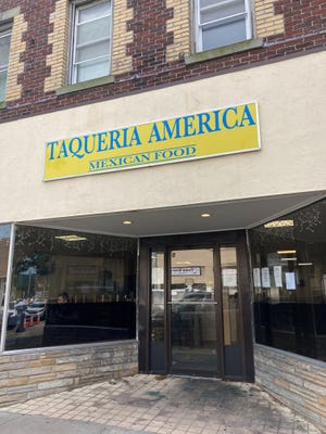 The exterior of Taqueria America in Suffern. Photographed Sept. 18, 2021.