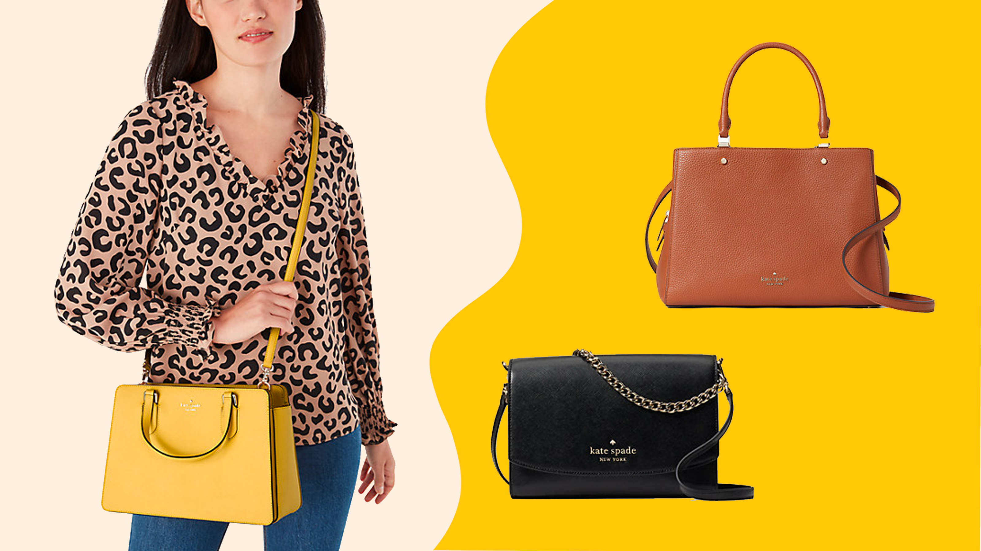 Save up to 75% on Kate Spade purses, handbags and more—but only for today