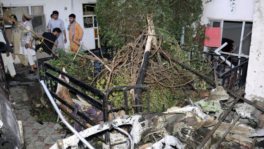 Kabul strike killed 10 civilians, no terrorists