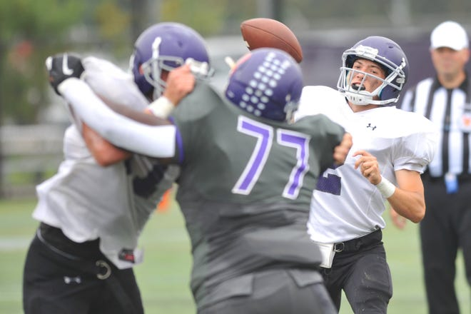 Aidan Ramaglia and Mt. Hope will be looking for their first win Friday when they travel to play Lincoln.