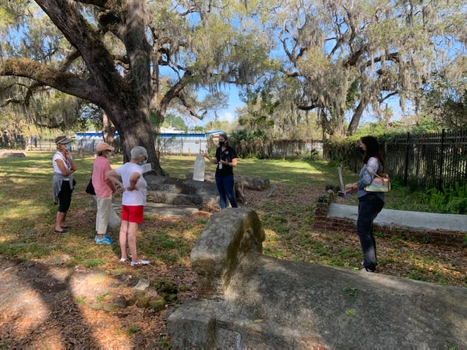 Manatee Village Historical Park staff members will lead tours of the 1850 Manatee Burying Ground on Oct. 9 and 23.