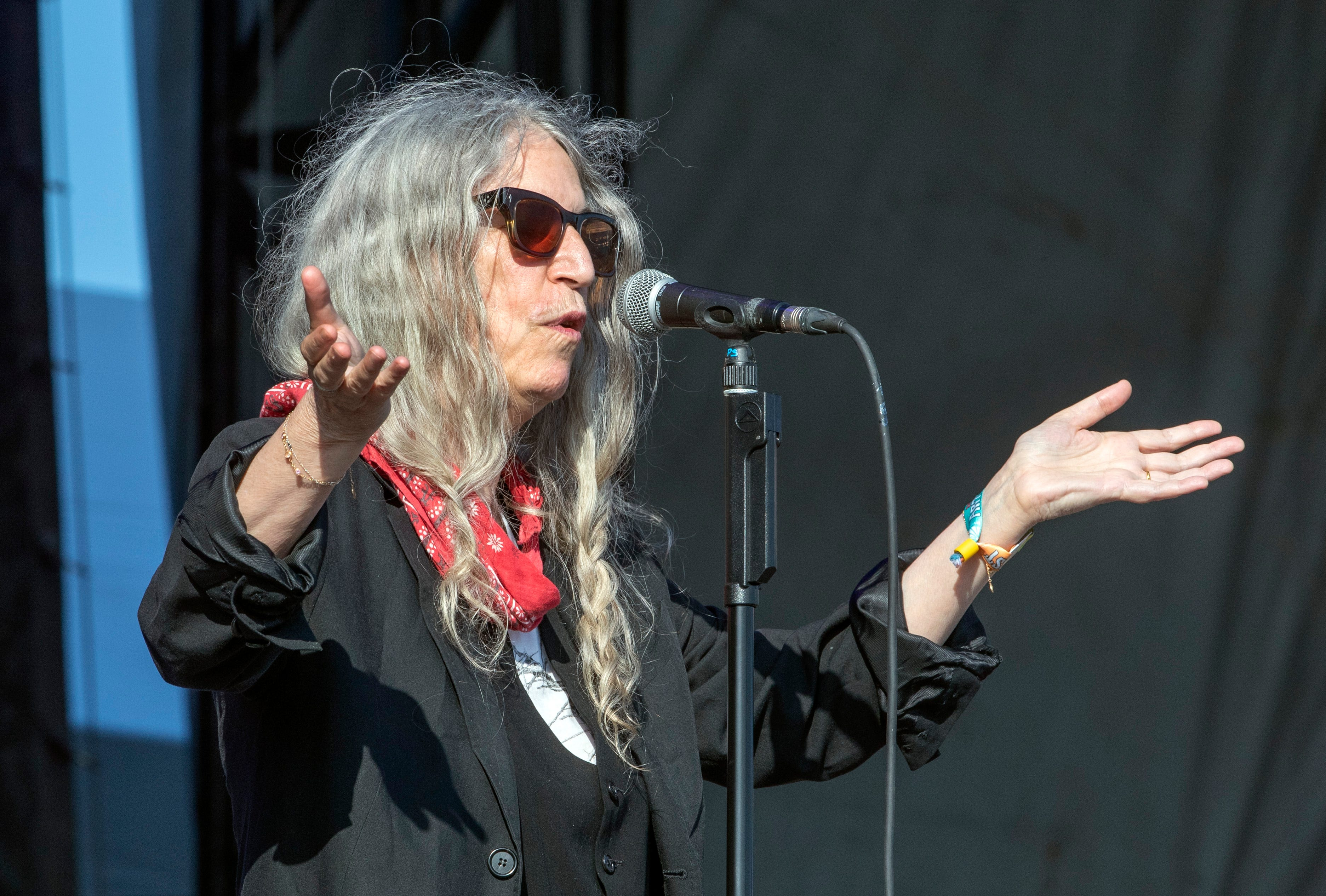 With mom on her mind, Patti Smith rocks Asbury Park beach at Sea Hear Now festival