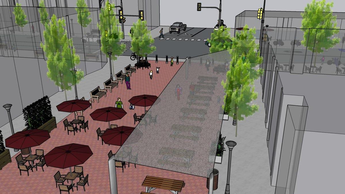 Metuchen eyeing pedestrian plaza like Somerville's Division Street