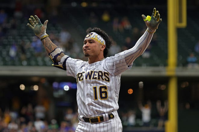 Kolten Wong played in 65 Brewers' victories this season and batted .327 compared to the .203 he hit in 51 losses.