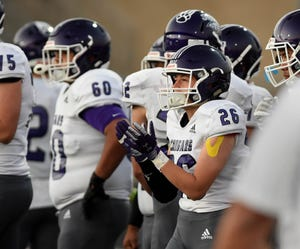 Action photos from the Spanish Springs at McQueen varsity football game on Sept. 17, 2021.