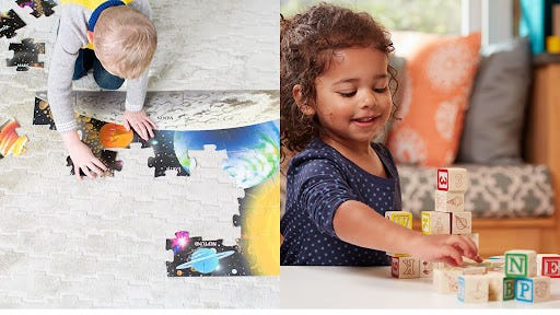 Start holiday shopping for the kids early with this sale on Melissa and Doug toys