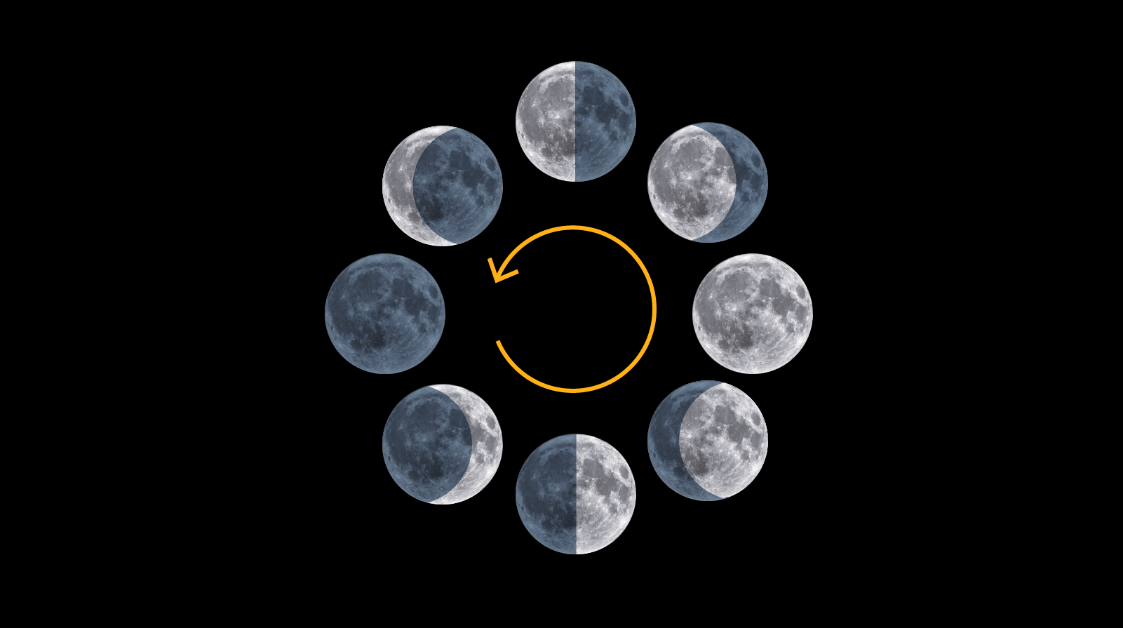 The harvest moon: A visual guide to full moons