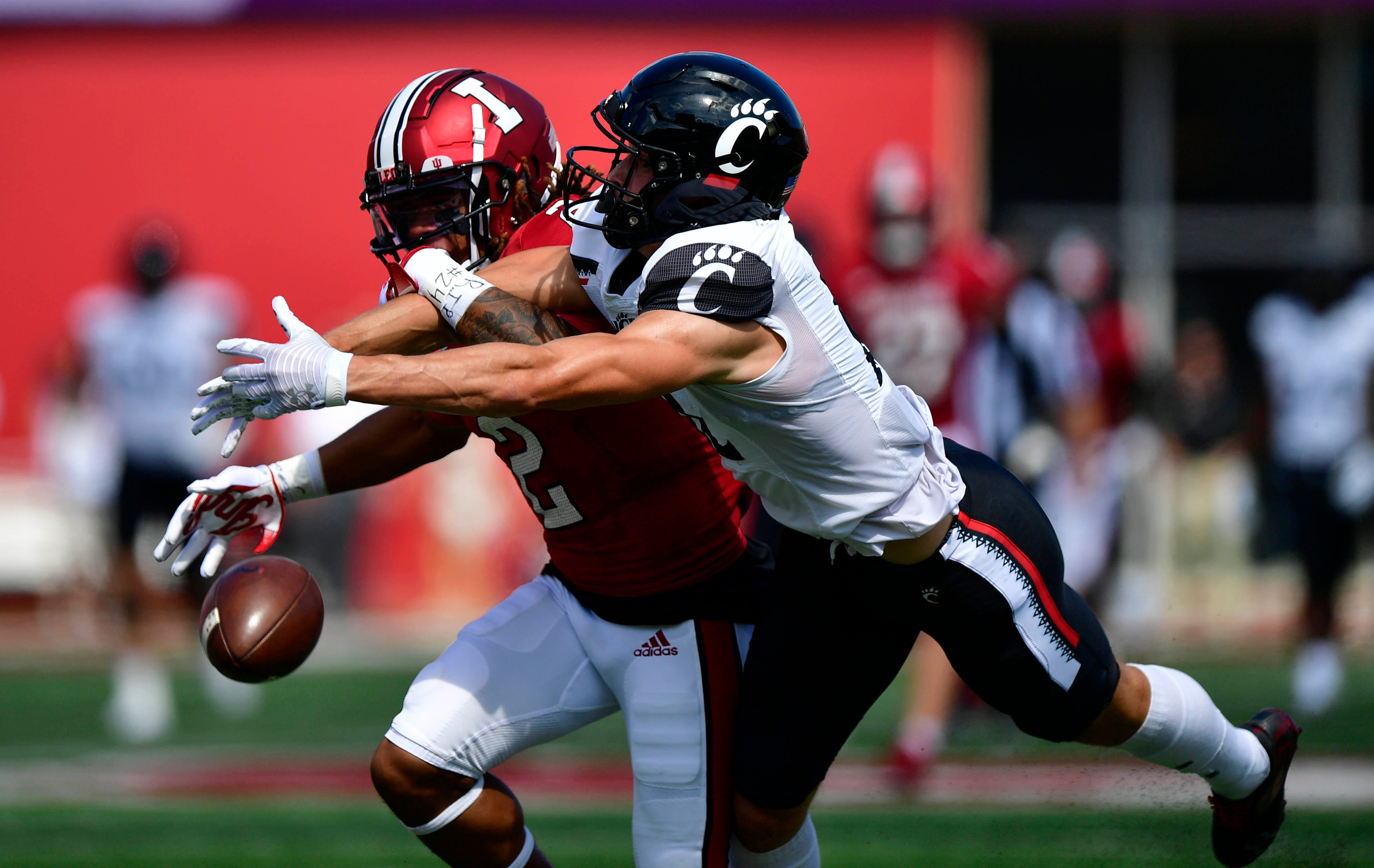 No. 8 Cincinnati repels Indiana in wild game to keep College Football Playoff push alive