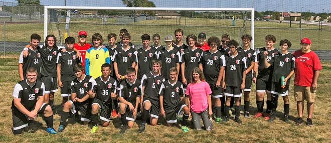 Ignited by a team-record-shattering scoring effort by senior Drake Cosgrove (27) in the opening round Friday night, the Chillicothe High School soccer Hornets grabbed the crown in the Spartans Invitational tournament hosted by Moberly last weekend.