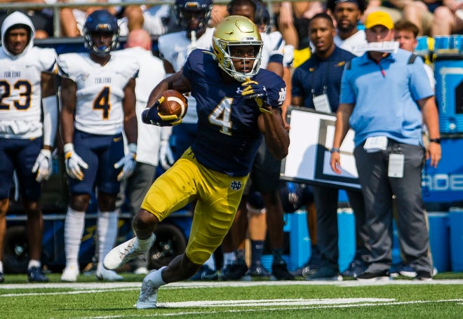 Notre Dame wide receiver Kevin Austin has quietly faded into the background the last two weeks. He needs to be a playmaker in a lot of ways Saturday against Wisconsin.