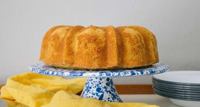Susie Bryant's Pound Cake by Way of Joe Roy Pendarvis