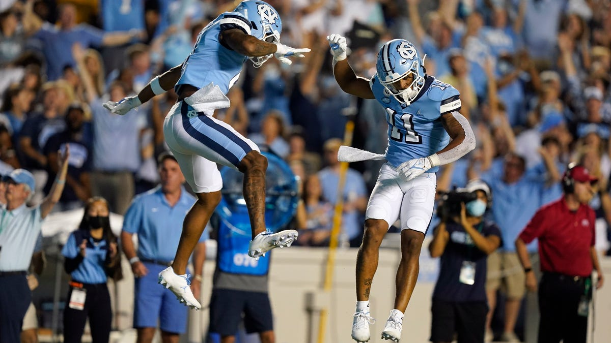 Avalanche of offense: Takeaways from UNC football's shootout victory against Virginia