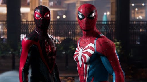 """The """"Spider-Man 2"""" video game is slotted to come out in 2023."""