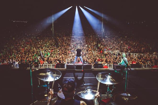 Guns N' Roses headlines Summerfest in Milwaukee last weekend.