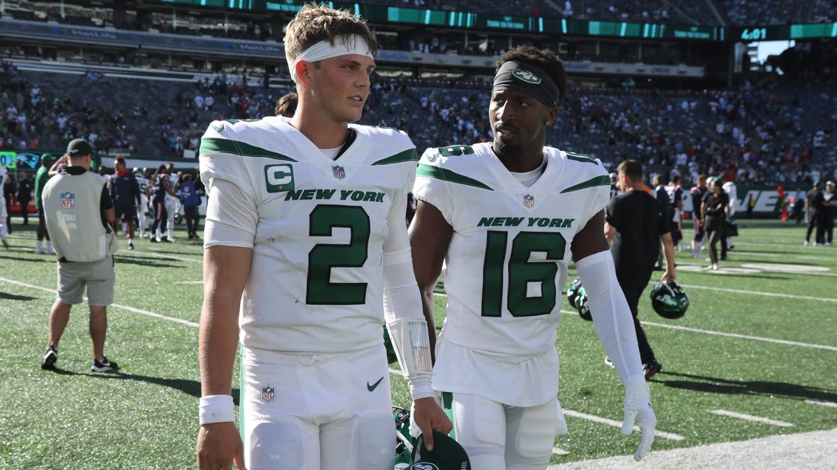 Jets confident rookie QB Zach Wilson can bounce back after disaster against Pats