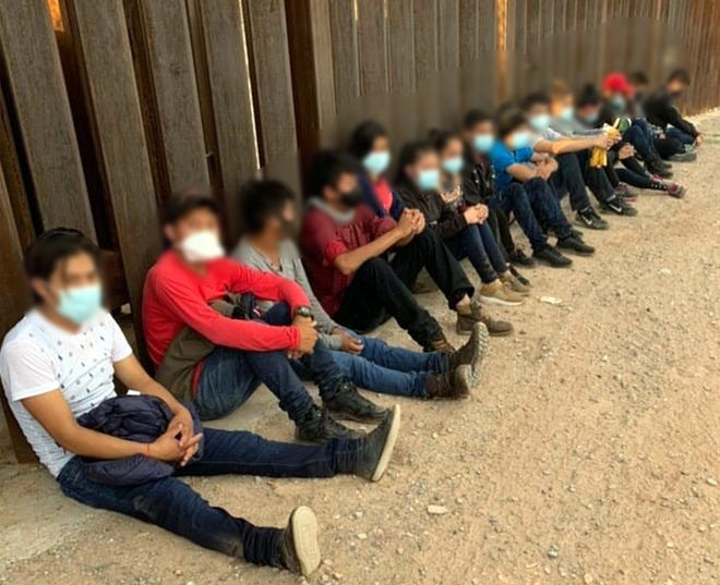 U.S. Border Patrol agents identified all the unaccompanied children as being citizens of Guatemala. The youngest person in the group  was a 12-year-old girl.