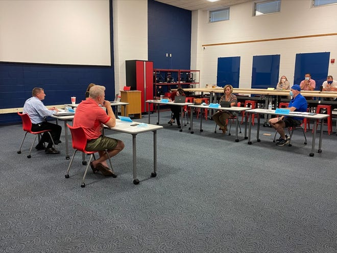 The Mapleton Board of Education meets Monday evening.