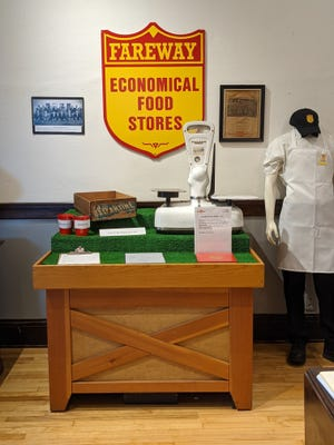 A new permanent exhibit about Fareway will be unveiled by the Boone County Historical Society from 10 a.m. to 3 p.m. Saturday at its history center, 602 Story St. in Boone.
