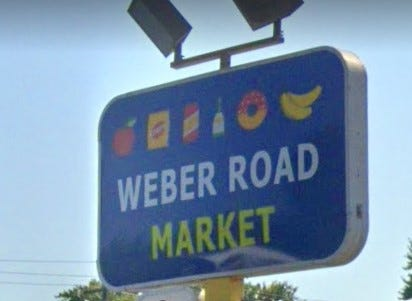 A man was fatally shot Sunday night outside the Weber Road Market in North linden, the second homicide reported near the business in 2021.  That shooting was reported 17 minutes before a double shooting that occurred at the Hartford on the Lake apartment complex in the Eastland area on the Southeast Side, which left one woman dead and a man wounded.
