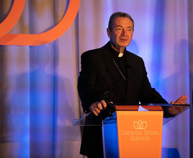 The Most Rev. Robert Brennan is the bishop of the Roman Catholic Diocese of Columbus.