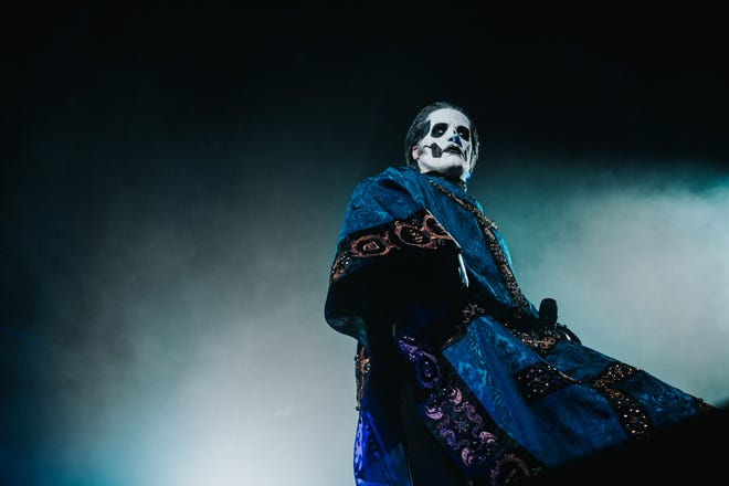 Grammy Award-winning rock band Ghost and Denmark's Volbeat will co-headline a concert performance in El Paso next year.