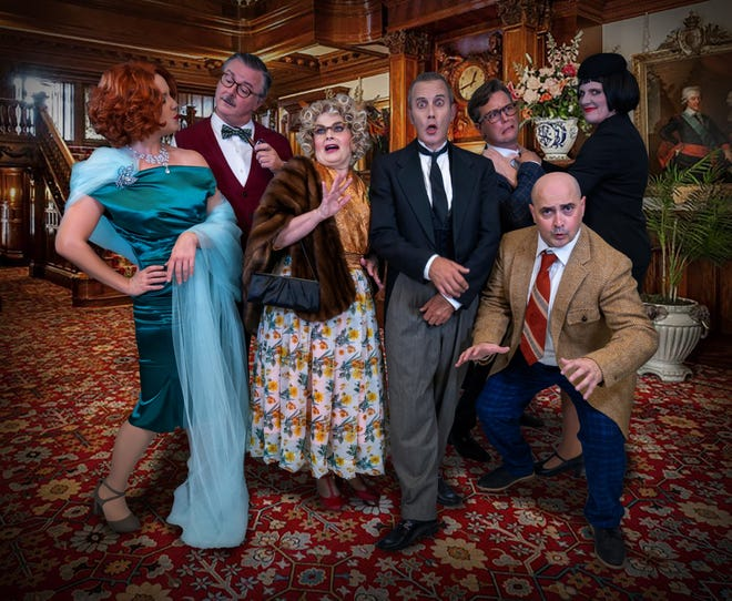 Clue is playing at the Athens Theatre in DeLand until Oct. 17.