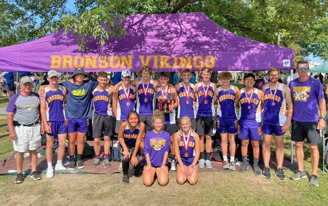 The Bronson VIkings made a successful trip to Holly Saturday, bringing home a number of medals and a championship finish for the boys in the D4 tournament