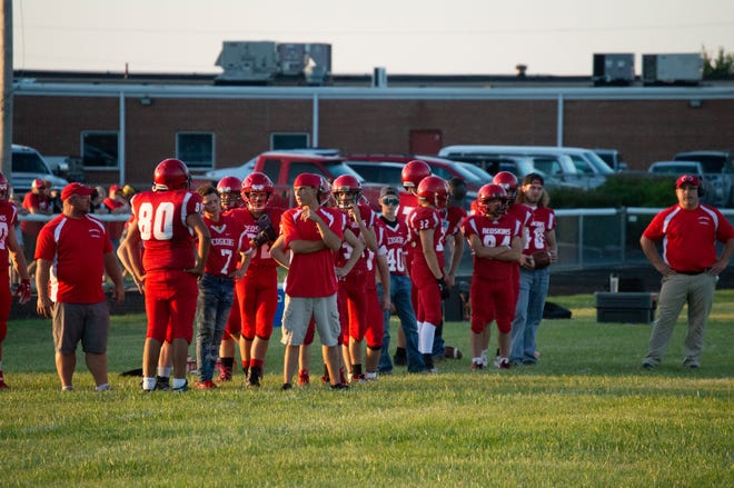 Camden-Frontier looks to avoid dropping to 2-3 on the year when they take on the  Bellevue Broncos.