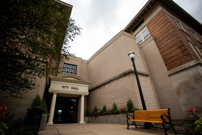 The exterior of Holland City Hall Monday, Sept. 20, 2021 located at 270 South River Ave in downtown Holland.