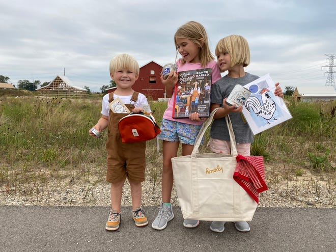 Tweed Baby Outfitters raised more than $11,000 for Critter Barn — an educational, hands-on farm in Zeeland Township — by selling farm-themed bundles of books, decor and foodstuffs.