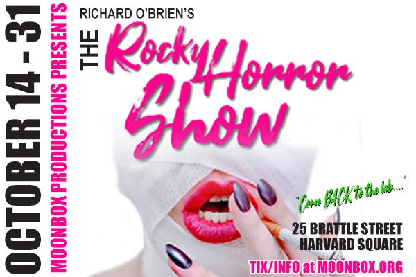 """Moonbox Productions will present Richard O'Brien's legendary cult classic """"The Rocky Horror Show"""" in a pop-up theater."""