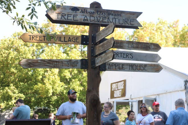 The Apple House Market gave shoppers a lot of options over the weekend.